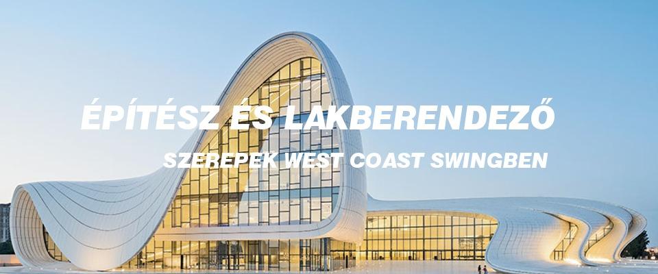 Egy futurisztikus építmény, ami a west coast swingben a partnerséget reprezentálja