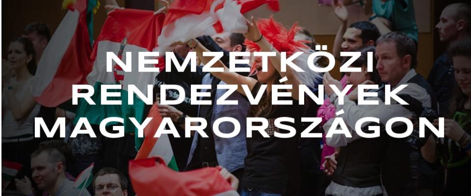 Egy west coast swing verseny közönsége, ahogy bíztatják a magyar westiket
