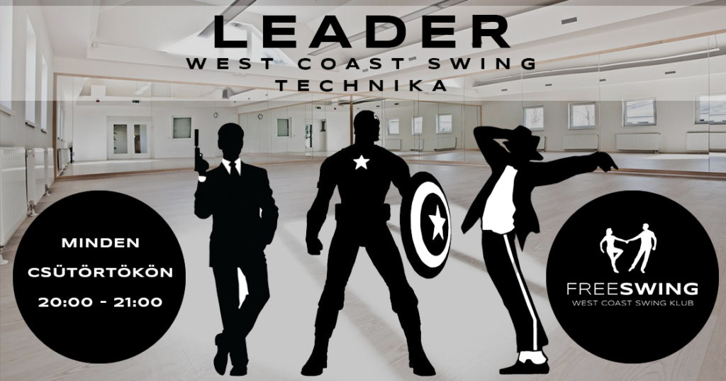 West coast swing leader technika