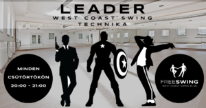 West coast swing leader technika