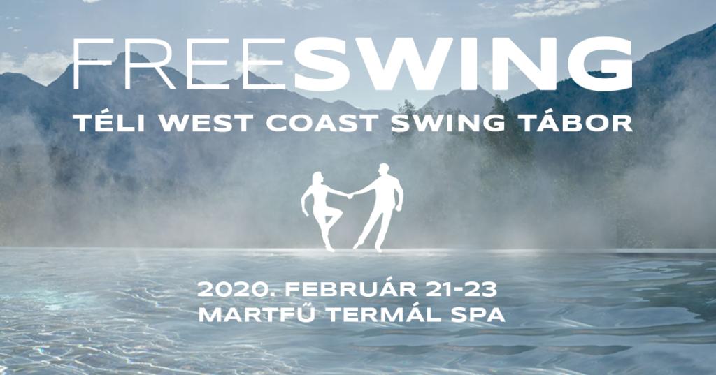 Freeswing téli west coast swing tábor 2020