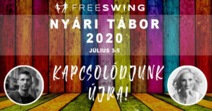 Freeswing West coast swing nyári tábor 2020