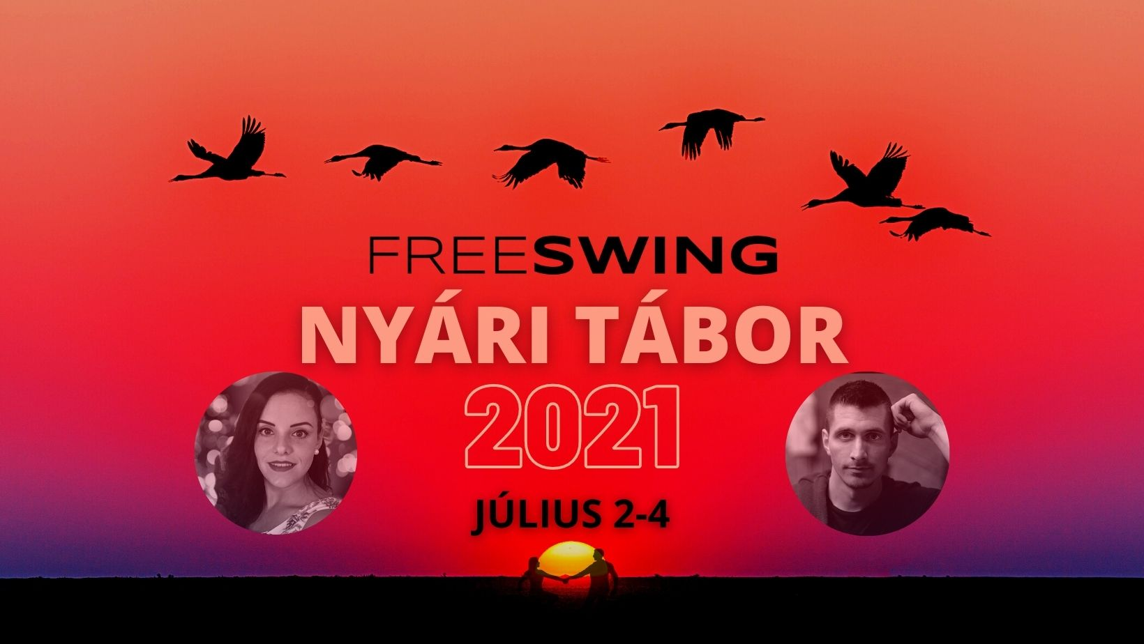 Freeswing West coast swing nyári tábor 2021