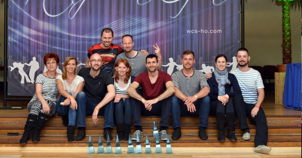 Magyar west coast swing versenyzők